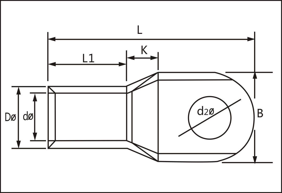 窥口铜接线端头(dtga型) sc